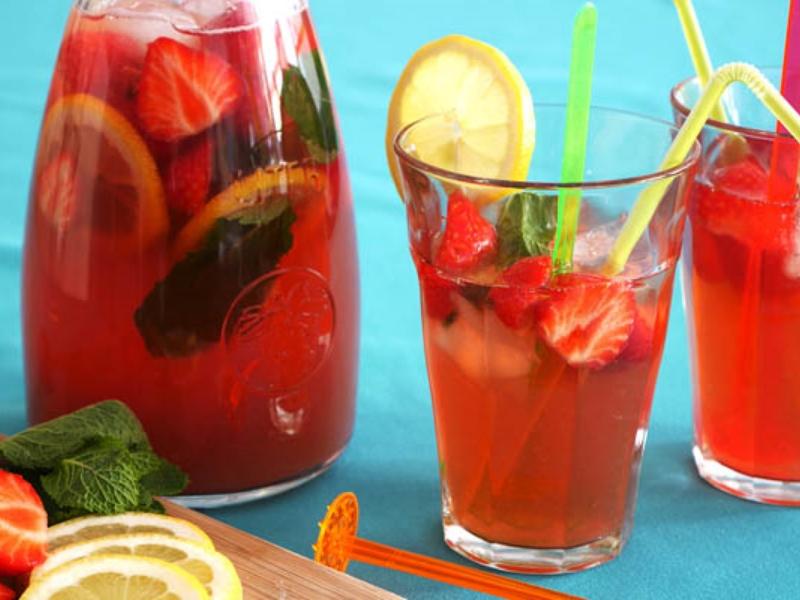 Frisse fruitdrankjes